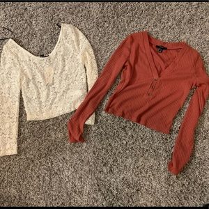 [Forever 21] Bundle of Crop Tops